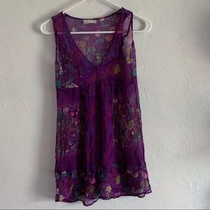 kimchi & blue by urban outfitters purple dress